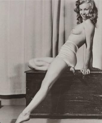 Marylin Monroe Inmortalizada Para La Publicaci N Playboy Por