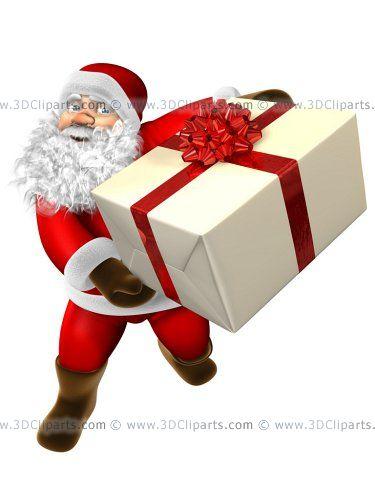 FELIZ NAVIDAD 2010 ! - Página 2 Fiesta_deseos_papa_noel_ofrece_regalos_ninas_ninos
