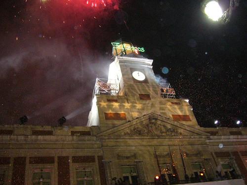 El nuevo a o llega movidito albherto 39 s blog for Puerta del sol en nochevieja