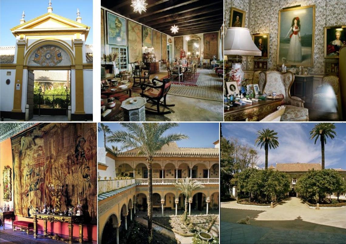 Palacio de las due as de sevilla albherto 39 s blog - La casa de los uniformes sevilla ...