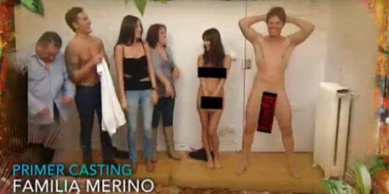 Desnudarse -ya lo hicieron en el vídeo de presentación-