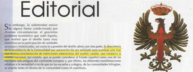 La pol tica soberanista de arturo albherto 39 s blog for Ejemplo de una editorial de un periodico mural