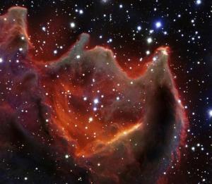 magen obtenida con el VLT (Very Large Telescope)  ESO