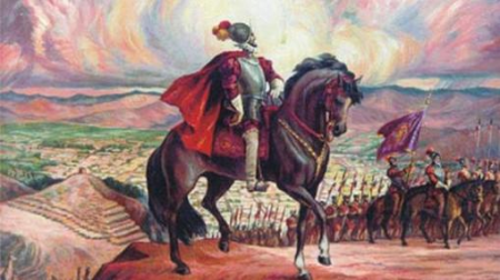pizarro-parte-hacia-cajamarca-wikimedia